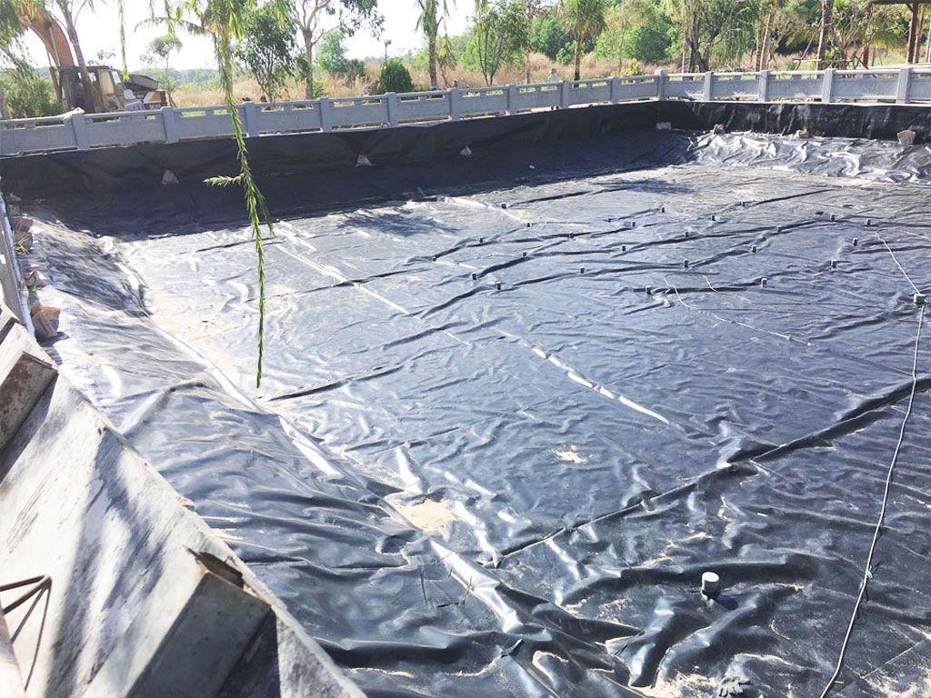 Bạt Nhựa HDPE Lót Ao Hồ Chứa Nước Nuôi Cá Tại Bình Phước