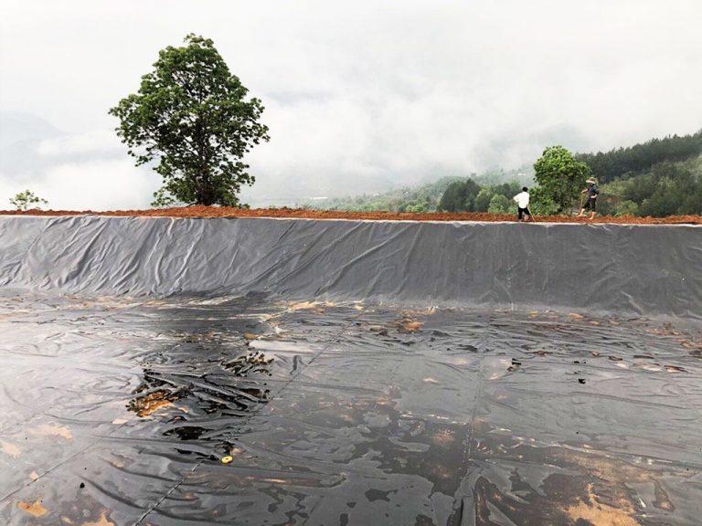 Thi Công Bạt Chống Thấm HDPE, Bạt Lót Hồ Chứa Nước Tưới Tiêu Tại Đắk Lắk Giá Rẻ
