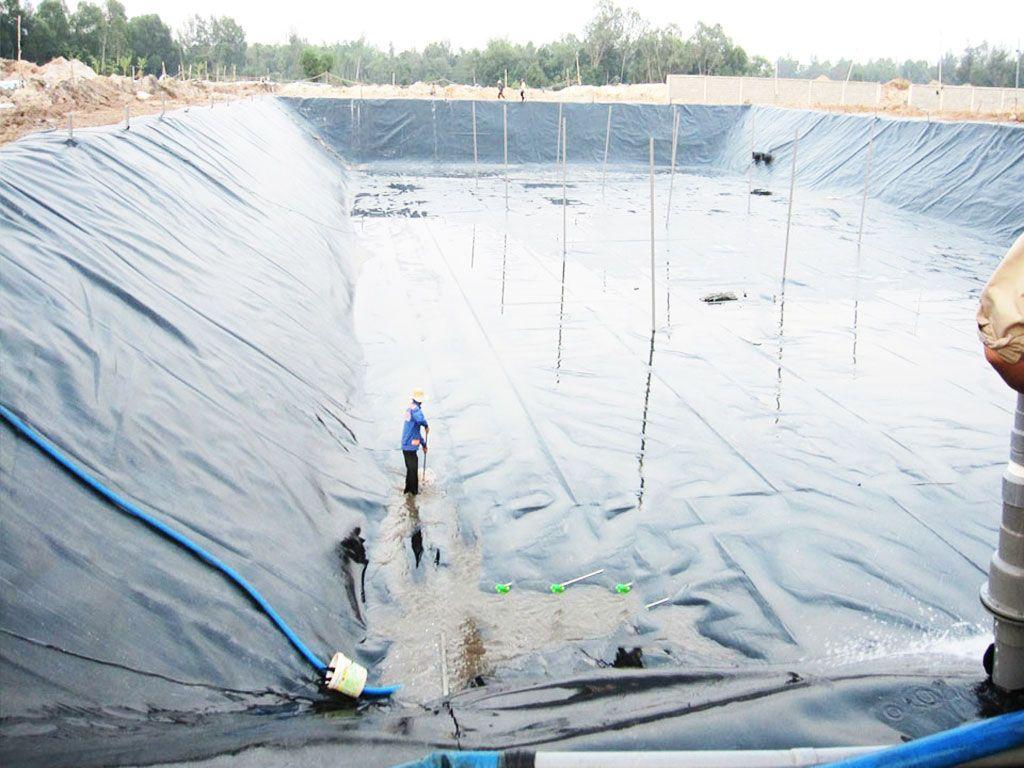 Bạt Nhựa HDPE Lót Ao Hồ Chứa Nước Nuôi Cá Tại Gia Lai Com Tum