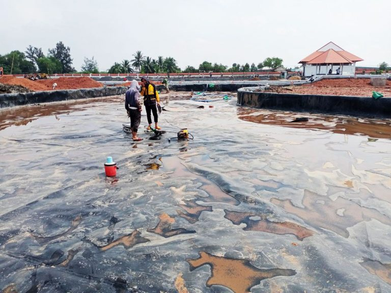 Bạt Nhựa HDPE Lót Ao Hồ Chứa Nước Nuôi Cá Tại Bình Dương