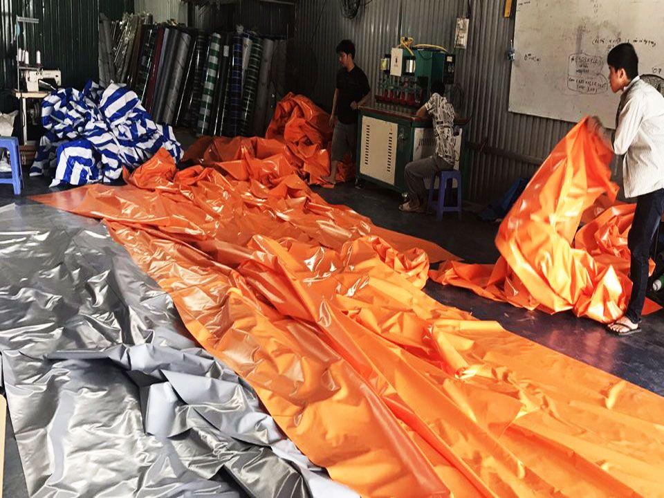 Cung Cấp Bạt Xanh Cam Che Phủ Hàng Hóa, Bạt Che Mưa, Bạt Phơi Nông Sản Giá Rẻ Tại Lâm Đồng - Bảo Lộc - Đà Lạt