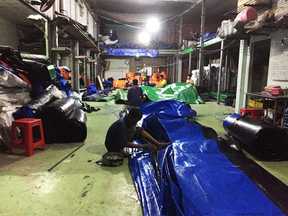 Cung Cấp Bạt Xanh Cam Che Phủ Hàng Hóa,Bạt Che Mưa, Bạt Phơi Nông Sản Giá Rẻ Tại Bình Phước