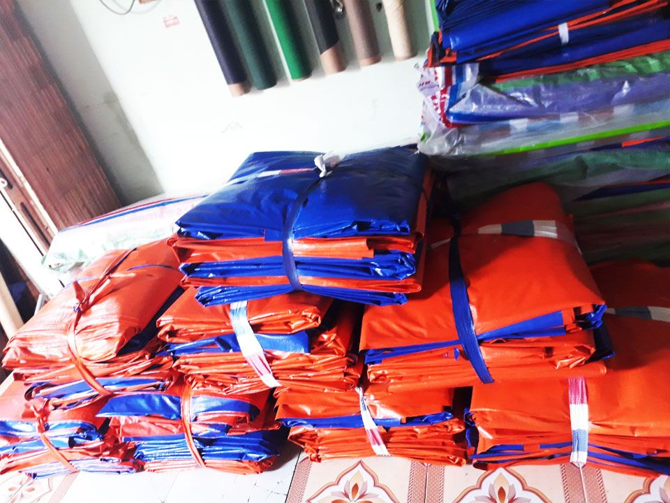 Cung Cấp Bạt Xanh Cam Che Phủ Hàng Hóa, Bạt Che Mưa, Bạt Phơi Nông Sản Giá Rẻ Tại Cam Ranh - Khánh Hòa - Nha Trang