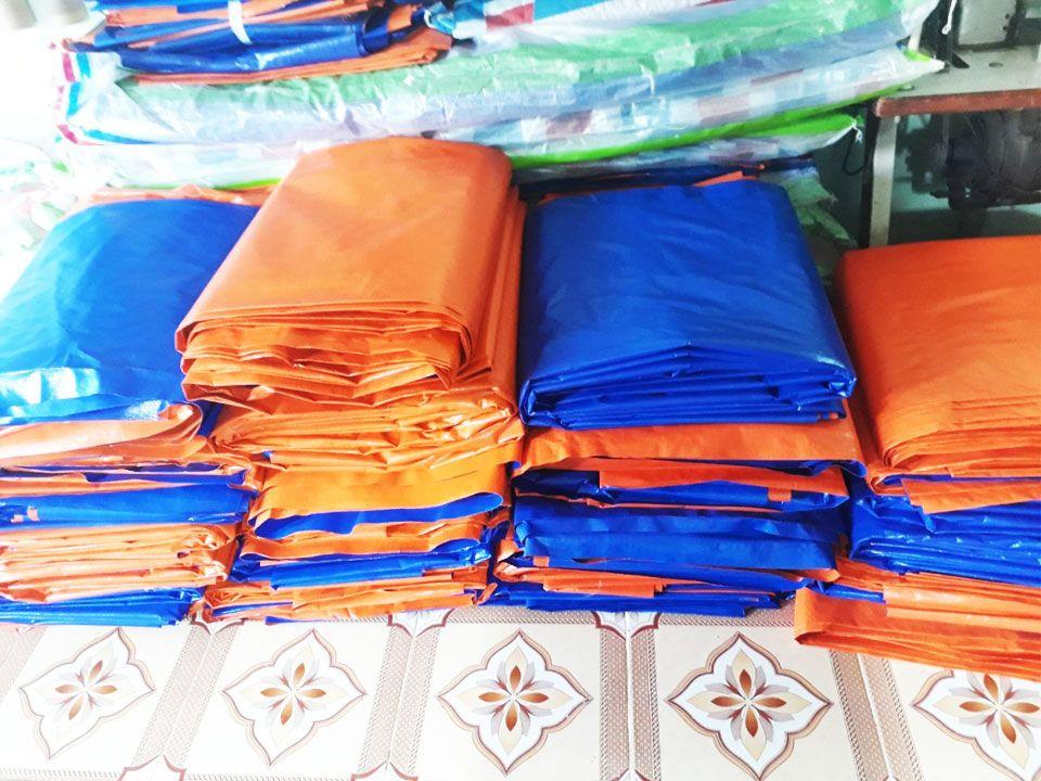 Cung Cấp Bạt Xanh Cam Giá Rẻ, Bạt Nhựa Xanh Cam Khổ 2m , 3m , 4m , 6m