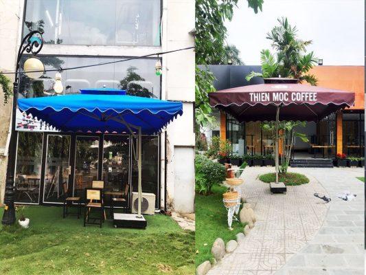 Cung Cấp Dù Che Nắng Ngoài Trời, Quán Cafe, Che Mưa, Dù Lệch Tâm, Dù Đứng Tâm Giá Rẻ Tại Cà Mau