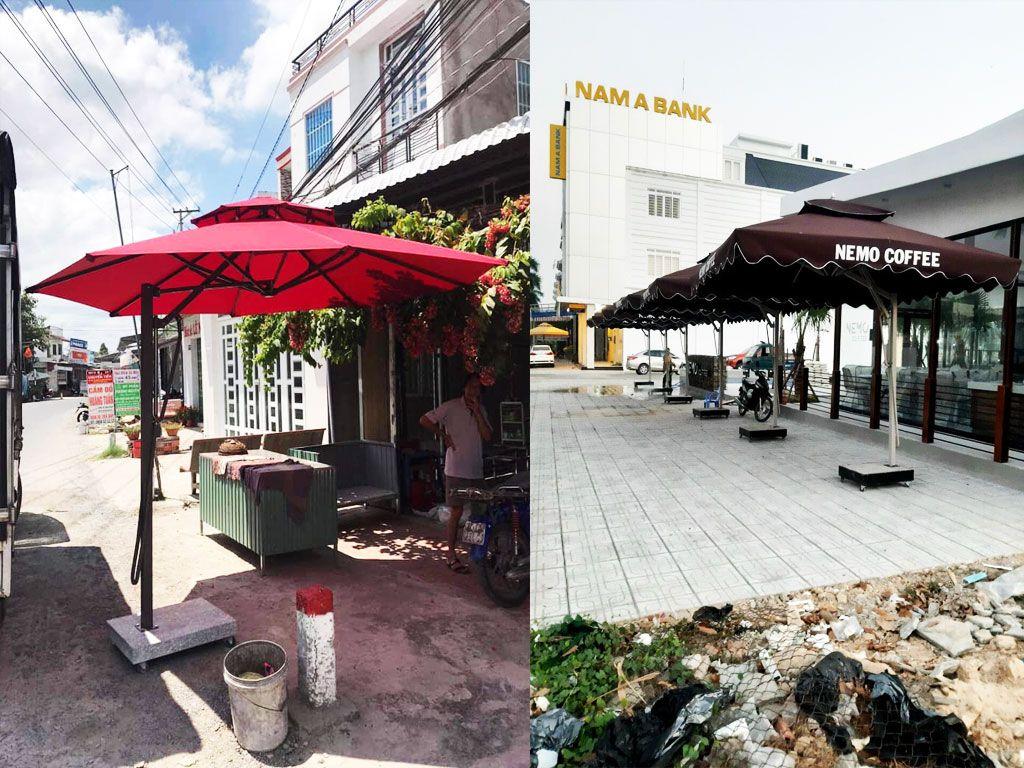 Cung Cấp Dù Che Nắng Ngoài Trời, Quán Cafe, Che Mưa, Dù Lệch Tâm, Dù Đứng Tâm Giá Rẻ Tại Thừa Thiên Huế