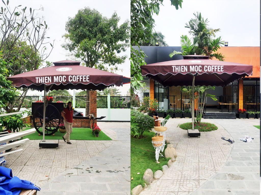 Cung Cấp Dù Che Nắng Ngoài Trời, Quán Cafe, Che Mưa, Dù Lệch Tâm, Dù Đứng Tâm Giá Rẻ Tại Đà Lạt - Lâm Đồng - Bảo Lộc