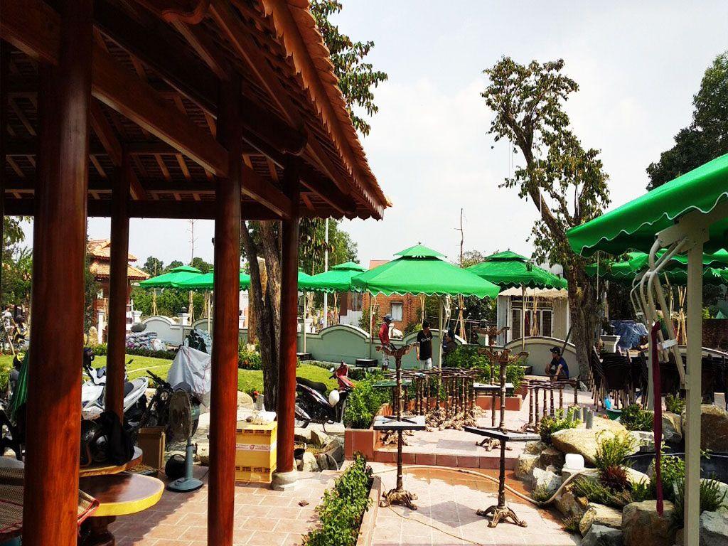 Cung Cấp Dù Che Nắng Ngoài Trời, Quán Cafe, Che Mưa, Dù Lệch Tâm, Dù Đứng Tâm Giá Rẻ Tại TP Hồ Chí Minh